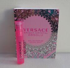 VERSACE Bright Crystal Absolu Eau de Parfum mini Spray Perfume, Brand NEW!!