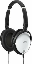 JVC Sealed Type Folding Headphone HA-S600-W White New in Box