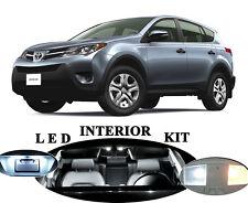 LED for Toyota Rav-4 White Interior + License Plate + Reverse + Vanity (10 pcs)