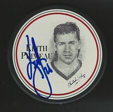 Keith Primeau Signed Detroit Red Wings 1996 Burger King Puck