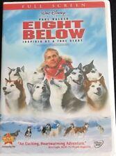 EIGHT BELOW DVD Walt Disney Presents a Film Inspired By A True Story PAUL WALKER