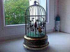 Singvogelautomat 2 Vögel von Griesbaum um 1930