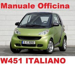 Smart (W451) (2004/2014) Manuale Officina Riparazione ITALIANO