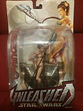 Star Wars™ UNLEASHED Princess Leia SLAVE OUTFIT (2004 Trilogy Issue) Rare Figure