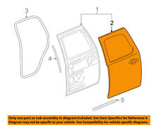 GM OEM-Door Skin Outer Panel Right 20840666