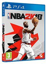 "Juego Sony PS4 ""NBA 2k18"""