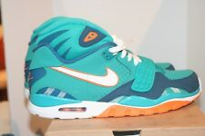Nike Air Trainer SC II QS Miami Dolphins DS Size 8 Turbo Green Orange