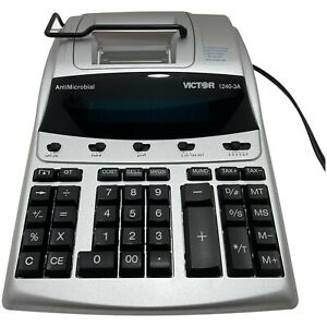Victor 12 Digit Heavy Duty Commercial Printing Calculator 1240-3A