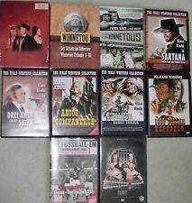 DVD Paket Western Klaus Kinski, Winnetou, Karl May Mexiko- Pidax Doku Highlights