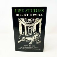 Life Studies New Poems by Robert Lowell (1959) First Edition, First Print HC/DJ