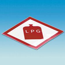 Caravan Motorhome LPG Gas Locker Warning Sticker Decal