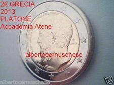 2 euro 2013 fdc Grecia Grece Griechenland Greece Platone Atene Athens Греция