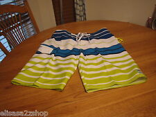 Men's Quiksilver surf board shorts trunks NEW swim mesh waypoint 22 white 40 NWT