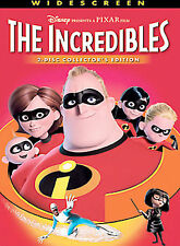 The Incredibles (Dvd) Disney! Free Shipping