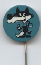 ORIG. pin olímpico w. juegos sarajevo 1984-mascota vucko // verde!