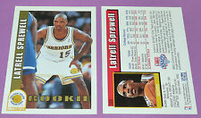 LATRELL SPREWELL GOLDEN STATE WARRIORS ROOKIE SKYBOX 1993 NBA BASKETBALL CARD