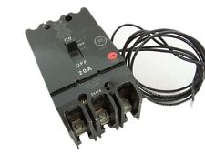 NEW GE TEY340ST12 Circuit Breaker 3 POLE 40AMP W/ 120V SHUNT TRIP
