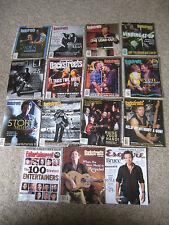 Bruce Springsteen Magazine & Newspaper Memorabilia Collection W/ Concert Tickets