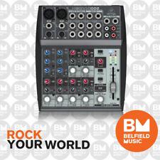 Behringer XENYX 1002 Mixer Premium 10-Input 2-Bus w/ Mic Preamps & British EQs