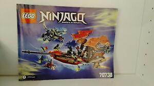 Lego Ninjago 70738 Der letzte Flug des Ninja-Flugseglers - Gebraucht - sehr gut