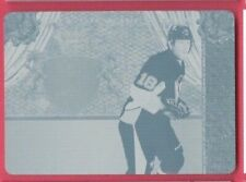JAMES NEAL 2011-12 Panini Crown Royale CYAN PRINTING PLATE Penguins #d 1/1