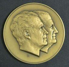 1973 President RICHARD NIXON VP Spiro Agnew Inaugural Solid Bronze Medal