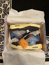 """Nike Air Jordan 4 Retro SP Union LA """"Off Noir"""" Size 12 Brand New DS Deadstock"""