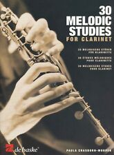 Crasborn-Mooren: 30 Melodic Studies for Clarinet Noten für Klarinette