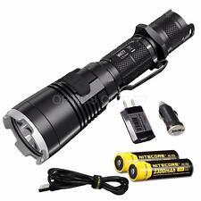NiteCore MH27 1000 Lumen Multi-Colored LED USB Flashlight w/ 2x18650 Batteries