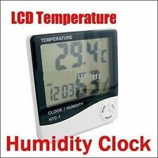 NEW DIGITAL LCD HYGROMETER HTC-1 2 IN 1 TEMPERATURE THERMOMETER & HUMIDITY METER