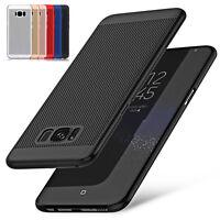 Slim Case Cover Handy Tasche Schutzhülle für Samsung Galaxy S6 S7 Edge S8 Plus