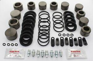 For Subaru Impreza STi Front & Rear caliper repair kits & pistons (*FK21*)