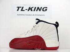 OG Vintage Nike Air Jordan 12 BT Baby Toddler Cherry Left Shoe Only 6C #68