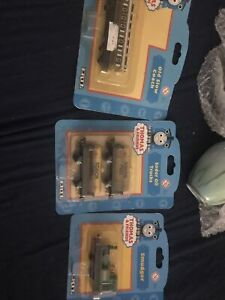 Thomas Tank Engine & Friends New Old Stock Smudger,Old Slow Coach& Oil Trucks