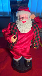42cm tall Musical Hip Swaying Santa ;- [ Battery opperated ]