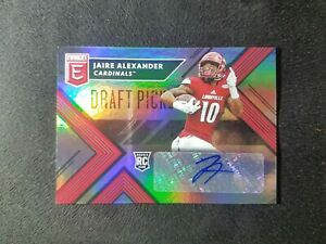 2018 ELITE, JAIRE ALEXANDER,  RC, AUTO, GREEN BAY PACKERS