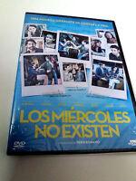 """DVD """"LOS MIERCOLES NO EXISTEN"""" PRECINTADO SEALED INMA CUESTA ANDREA DURO EDUARDO"""