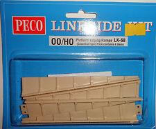 Peco LK-68 PLATFORM EDGING RAMPS  CONCRETE- OO/HO Gauge