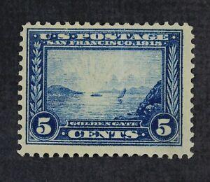 CKStamps: US Stamps Collection Scott#399 5c Mint H OG Crease CV$70