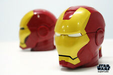 Gift Mugs Coffee Iron Man 3D Water Cup White Eyes ABS Plastic High Quality