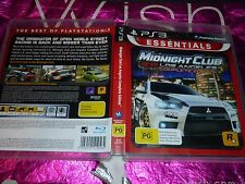 MIDNIGHT CLUB LOS ANGELES COMPLETE EDITION (SONY PS3 GAME, PG) (P132215-3 A)