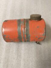 Vintage small round gas fuel tank briggs clinton minibike go kart