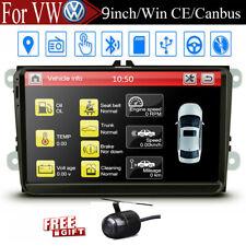 "For VW Volkswagen Jetta Passat 9"" Car GPS Stereo Navigation 2DIN Radio + Camera"