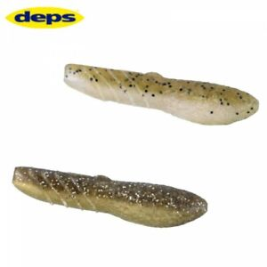 deps High Specific Gravity Fishing Worm Cover Scat 4 Inch Fast Shipping Japan