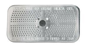 6 Pack 40 gram Indicating Desiccant Silica Gel Canister SG40