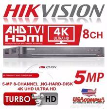 HIKVISION 8 CH DVR 4K DS-7208HUHI-K1 H.265+264 AHD/TVI 5MP-1080P (NO HARD DISK)