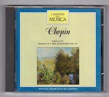 CD -  I MAESTRI DELLA MUSICA DEAGOSTINI CHOPIN VOLUME II N. 18