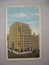 VINTAGE POSTCARD VIEW OF THE REDICK TOWER IN OMAHA NEBRASKA UNUSED