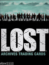 LOST ARCHIVES ULTRA MASTER SET AUTOGRAPHS COSTUMES INSERTS REWARD INCENTIVES+++