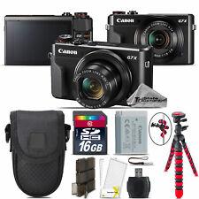Canon PowerShot G7 X Digital DIGIC 7 WiFi NFC 20.1MP Camera + 16GB Essential Kit